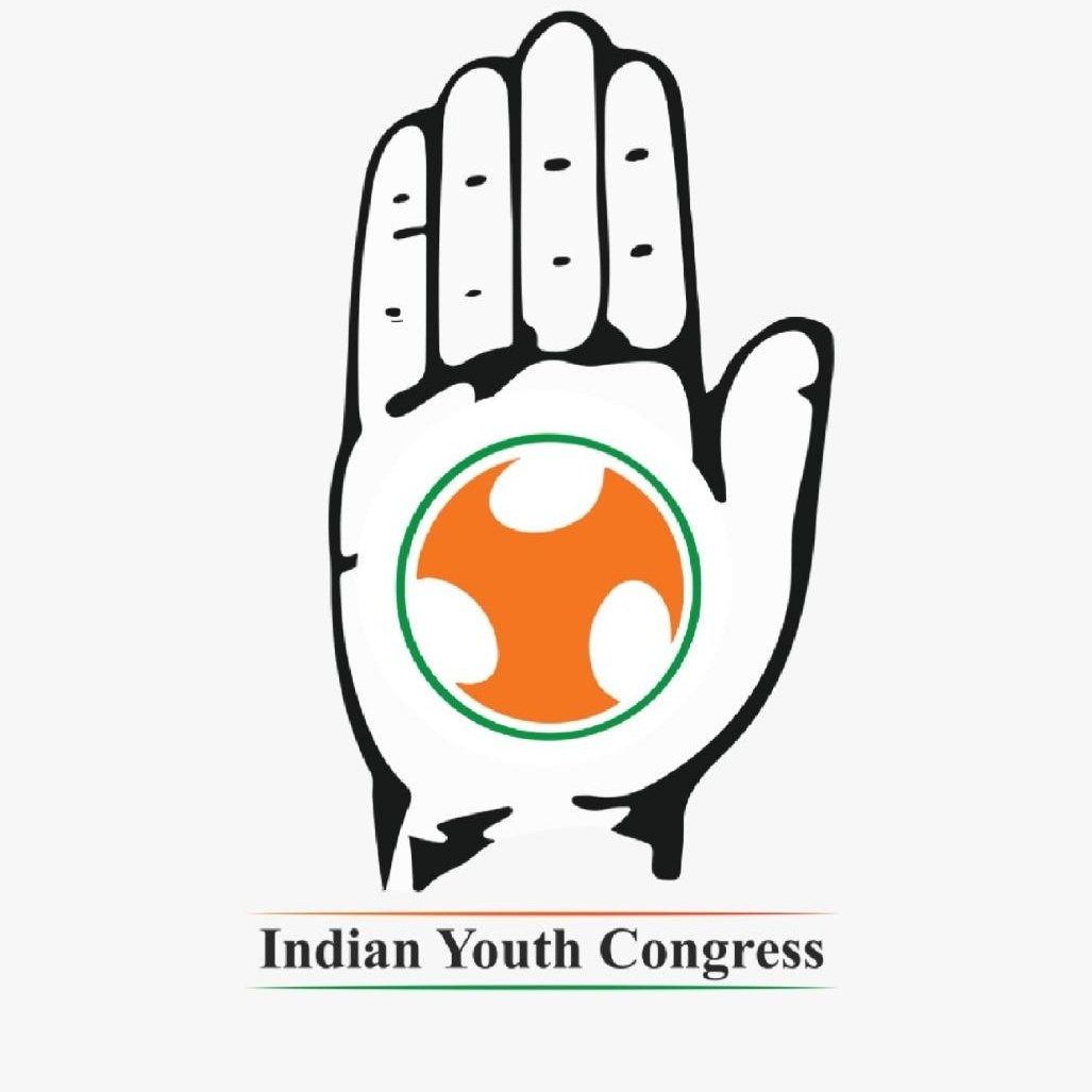 youth congress on twitter friends we have an immense fight in Moonbounce Logo iyc launches its new logo as a symbol of strength unity join us in the fight for a free and progressive india pic twitter jhseaowreq