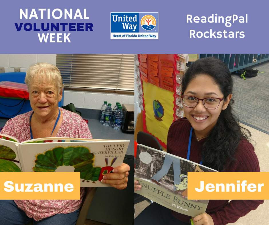 A6. We have some ReadingPal rock stars who have dedicated their time and talents towards ensuring the success of local students. Our work wouldn't be possible without them! Want to get involved?  Sign up:  http://www. hfuw.org/education/read ingpals &nbsp; …  #UnitedWayChat #NationalVolunteerWeek <br>http://pic.twitter.com/sxElFwacEP