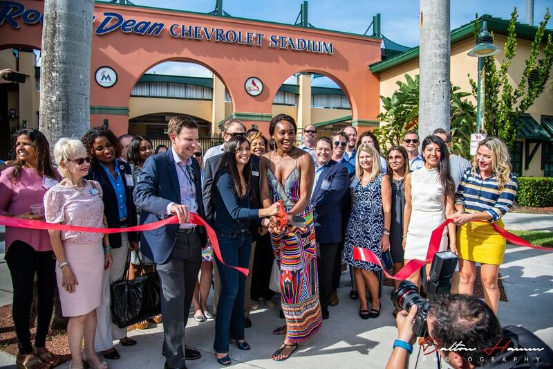 Thank you to everyone who came out to celebrate the grand opening of the @VStarrDesign designed suites at the Roger Dean Chevrolet Stadium