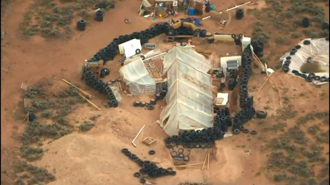 Hasil gambar untuk Man arrested at New Mexico compound allegedly trained kids for school shootings
