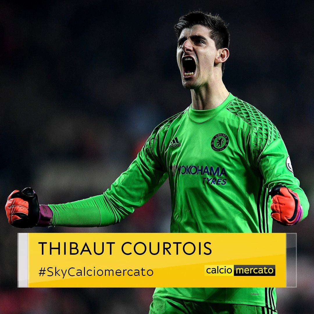 #UltimOra mercato #Courtois è un nuovo giocatore del #RealMadrid Accordo trovato con il #Chelsea#SkyCalciomercato  - Ukustom