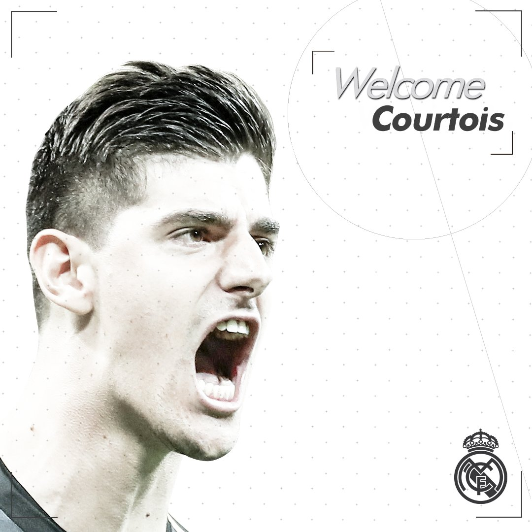 👋 Welcome to @realmadrid, @thibautcourtois! #WelcomeCourtois| #HalaMadrid