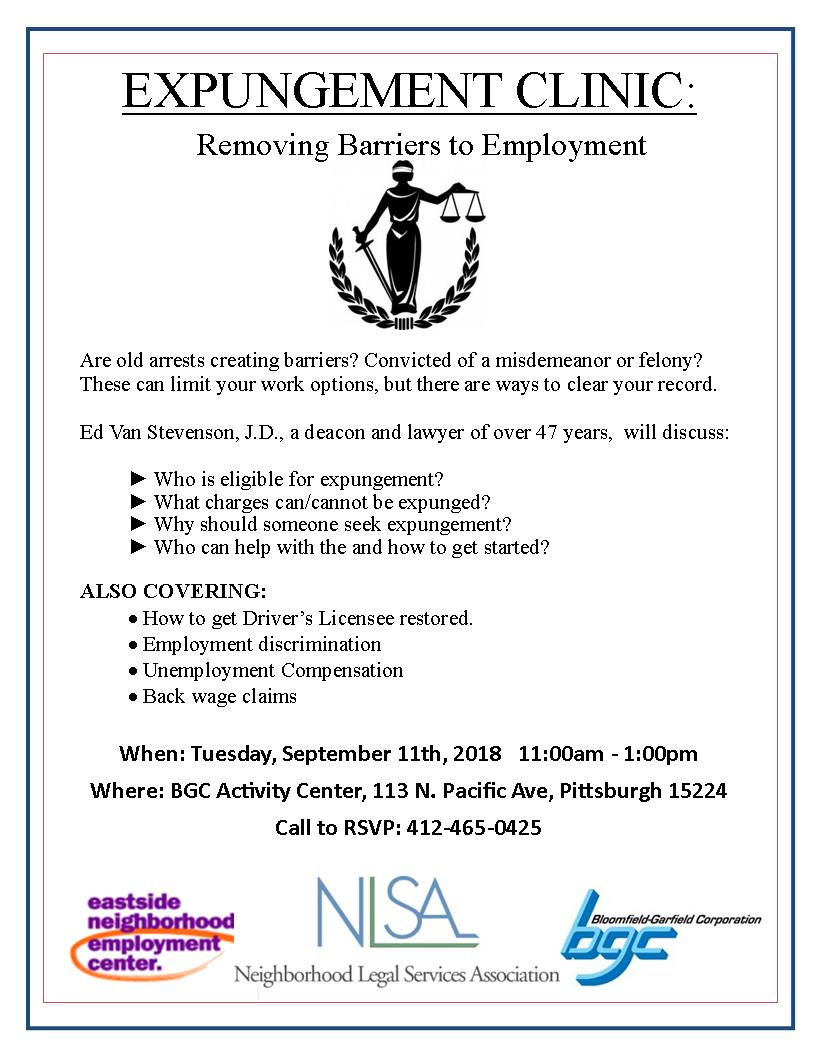 employment and your criminal record in pa