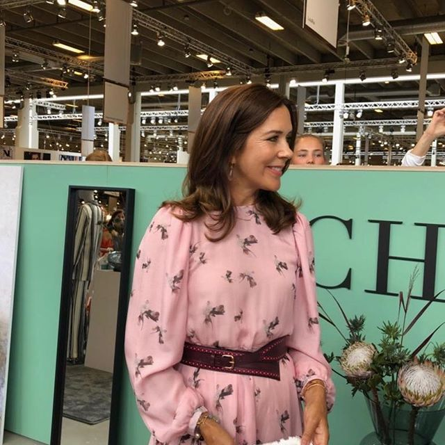 Royal Ladies On Twitter On August 8 2018 Crown Princess Mary Of Denmark Attended Future Of Fashion Design Show Held At Copenhagen Ciff Bella Center Future Of Fashion Is The Joint Design