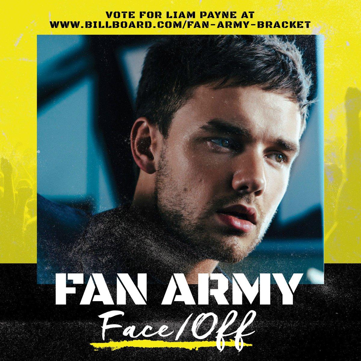 Liam Payne vs. #ELF  #FanArmyFaceOff voting is open: https://t.co/r7iW6Rc6z9