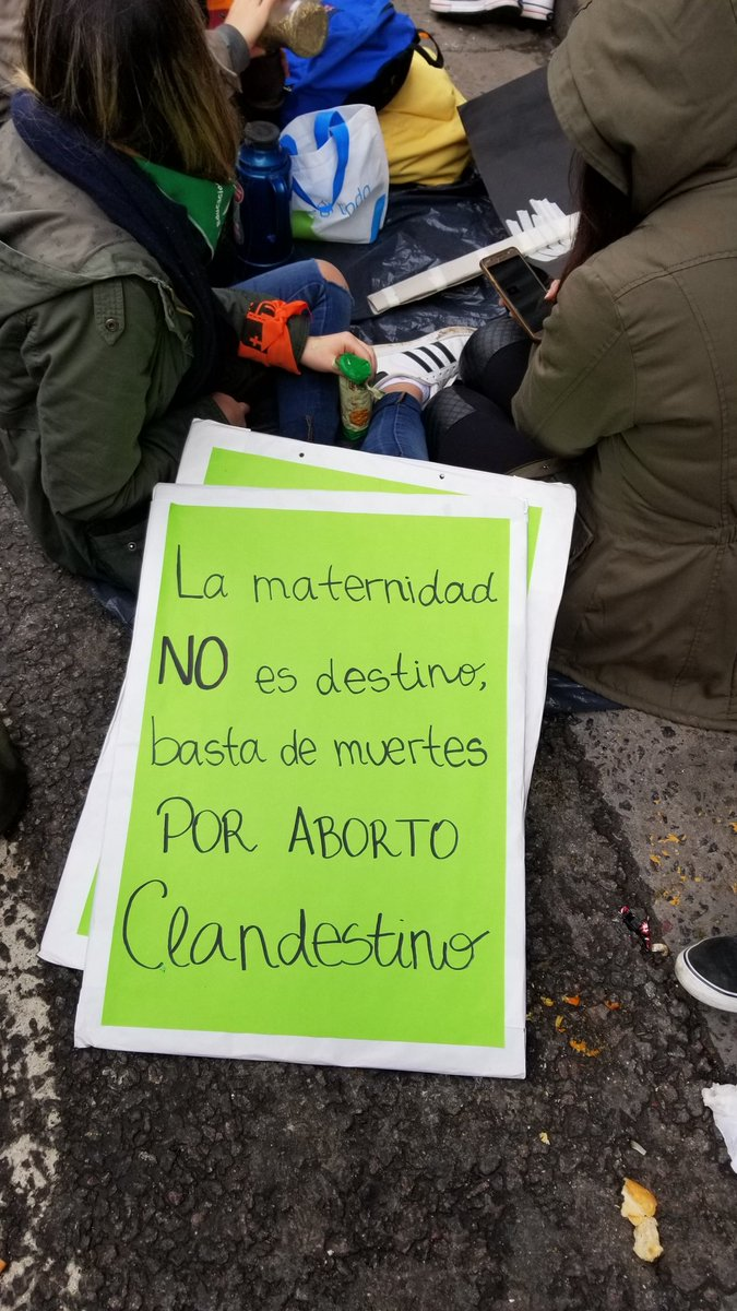 In Argentina, so many families, couples, kids are on the streets in Buenos Aires, fighting for a future where every women can decide if and when to have children. #EsHoy #AbortoLegalYa @IntlWomen<br>http://pic.twitter.com/V2wNl5UYml