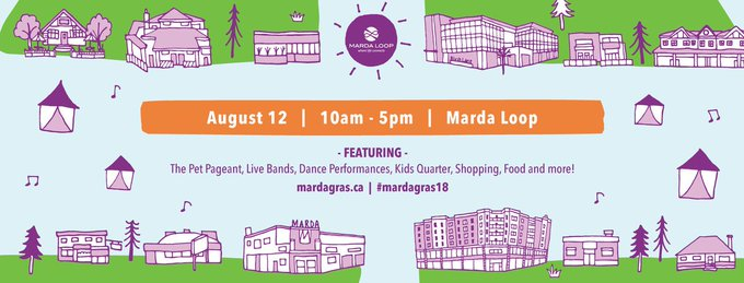 Enjoy live music, cultural dance, unique shopping, and great food at the 34th annual @mardagrasyyc festival this Sunday, August 12 from 10-5! 🎭 Attendance is FREE and the event is family-friendly!   #mardagras18 Photo