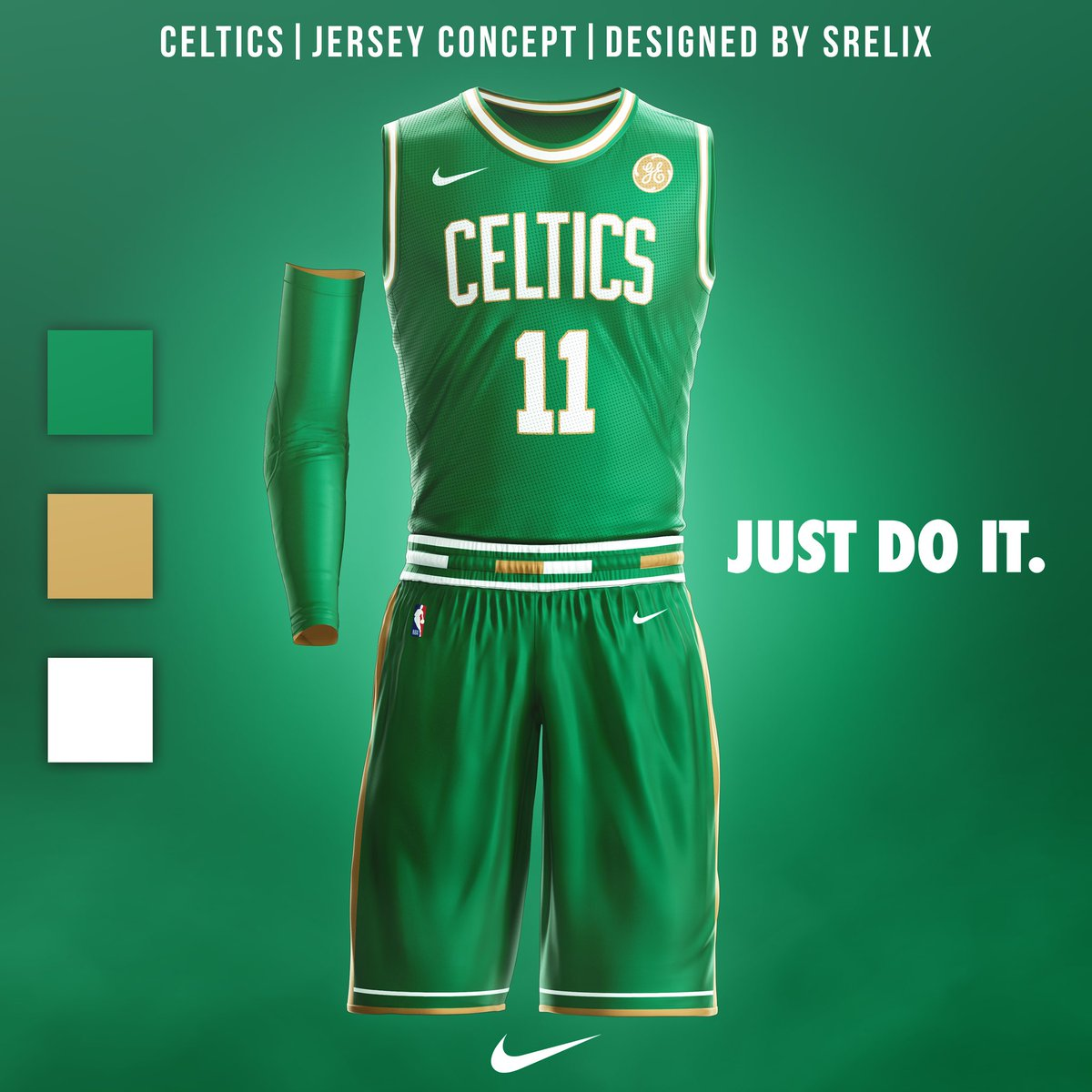 Mikey Halim On Twitter Boston Celtics Jersey Concept Follow Me On Instagram Srelix For More Celtics Celtics Bostonceltics