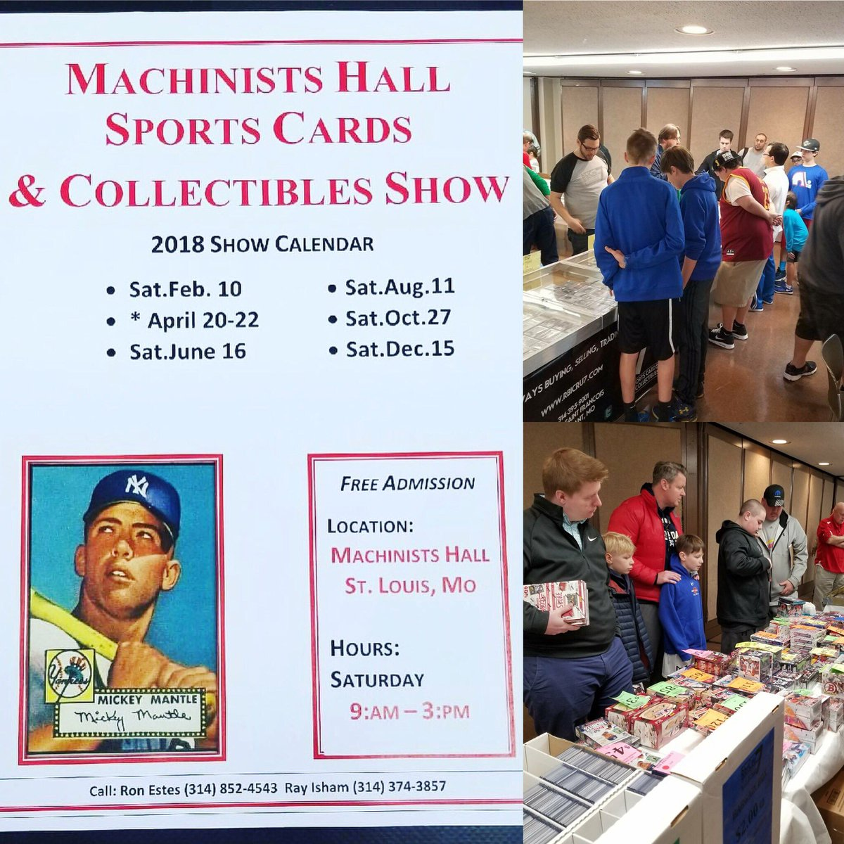 Rbicru7 On Twitter 3 Days Until The Next At Mhcardshow