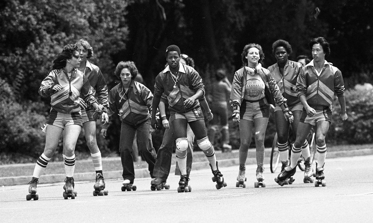 "13a90f10f3de Golden Gate Park Skate Patrol 1979. """