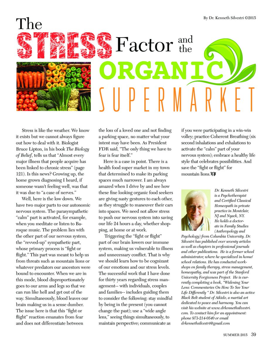 A previous column that I wrote on Stress Management: #systemsthinking  #stressreduction  #Vagusnerve  #mindfulness #Coherentbreathing<br>http://pic.twitter.com/0asKoVcVGo