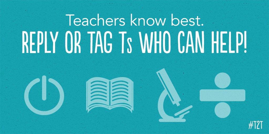Teacher2Teacher on Twitter: