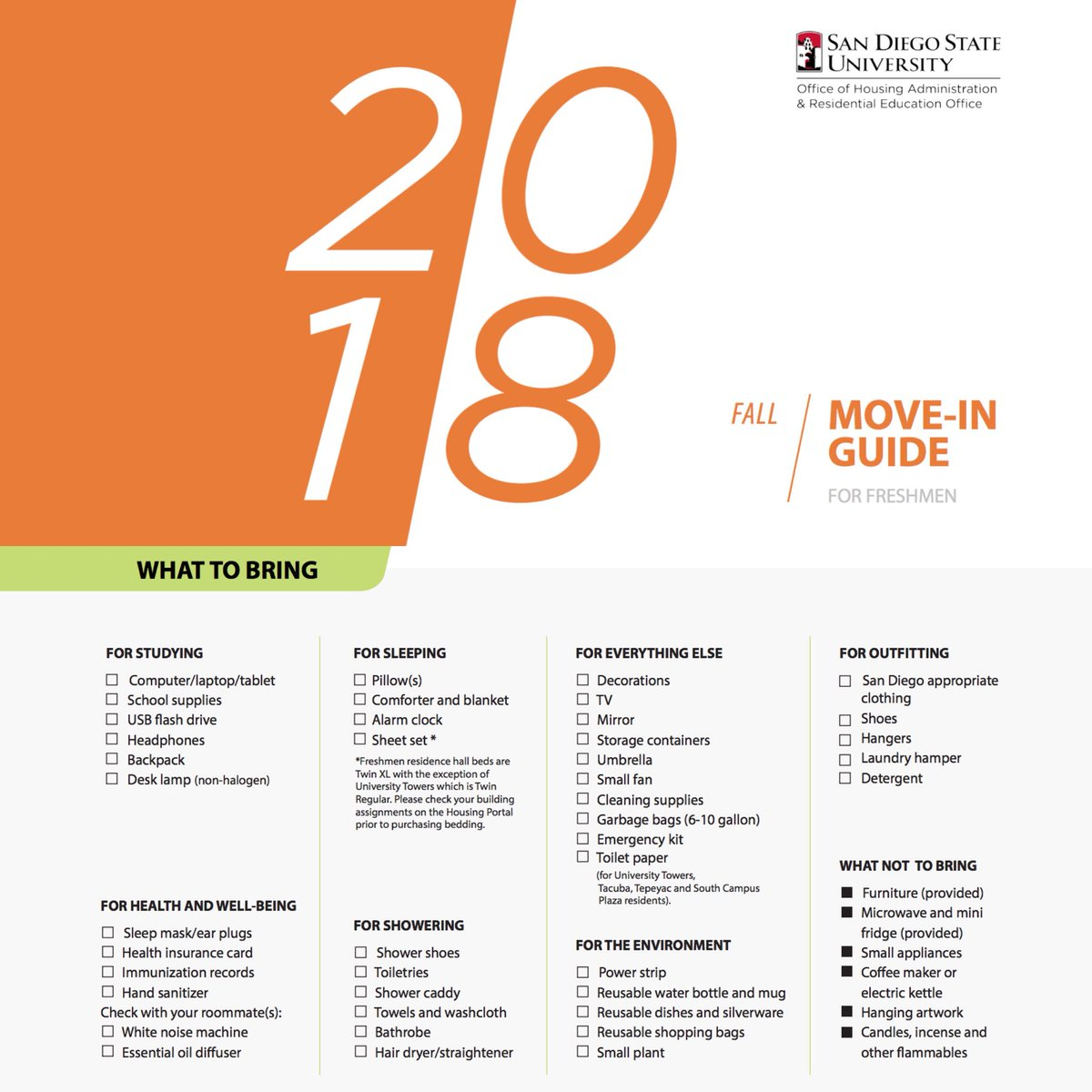 Sdsu Health Insurance >> Sdsu Housing On Twitter Our Aztecmovein Guide Is