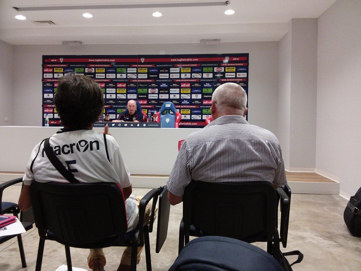 """#CagliariAtleti, Maran in conferenza stampa: """"Sono molto soddisfatto della prestazione della squadra e dell\"""
