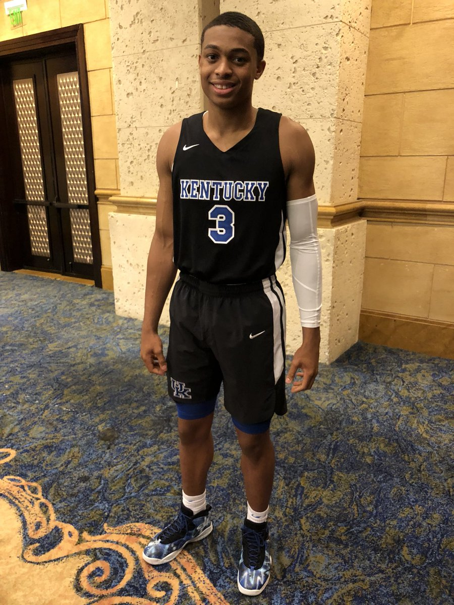 quality design 5ea92 d38ce Kentucky Basketball: Wildcats' Bahamas All-Black Uniforms