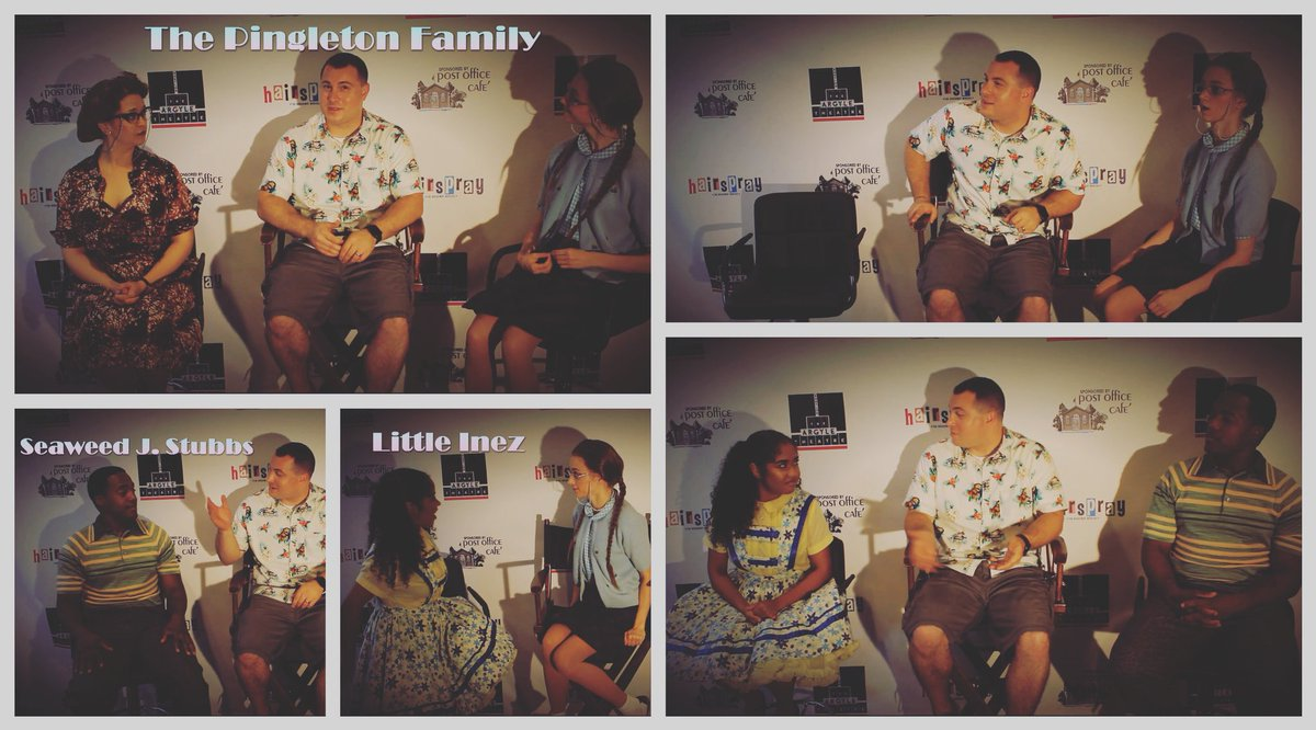 It has arrived...Argyle Anecdotes: Episode 2. Check out our Facebook to see the full interview with The Pingletons, Little Inez and Seaweed J. Stubbs #hairspray #argyletheatre #livetheatre #musicaltheater #goodmorningbabylon