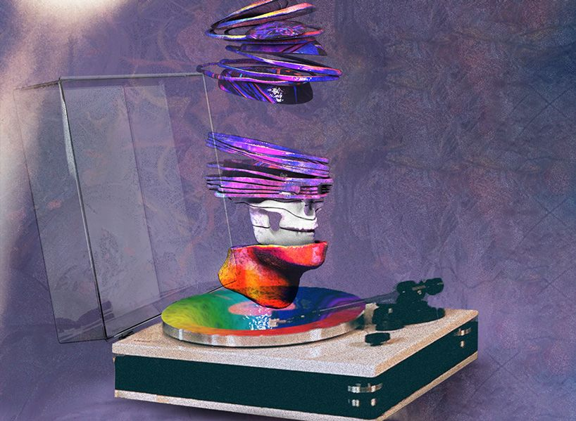 Reloaded twaddle – RT @designboom: vinyl records turn into 'music you can see' in new AR app by wie...