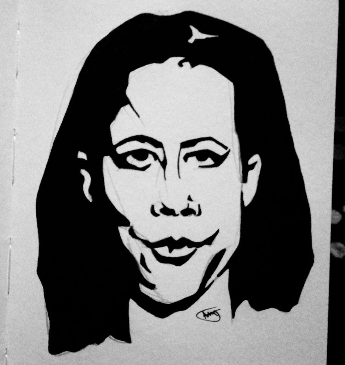 Oitnbseason6 orangeisthenewblack netflix actress actor mendoza gloriamendoza selenisleyva portrait illustration artwork drawing sketch