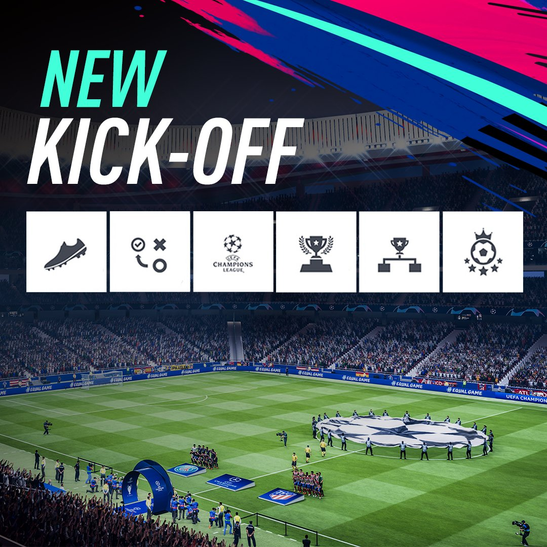 Survival Mode. Long Range. Headers and Volleys. New ways to play Kick-Off in #FIFA19! https://t.co/hbtubzrSTq https://t.co/zRy7nFxnYB