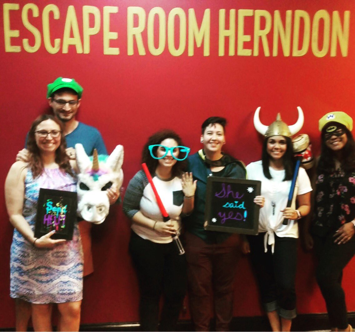 escape room herndon escapeherndon twitter 5 tried but tired halloween costumes