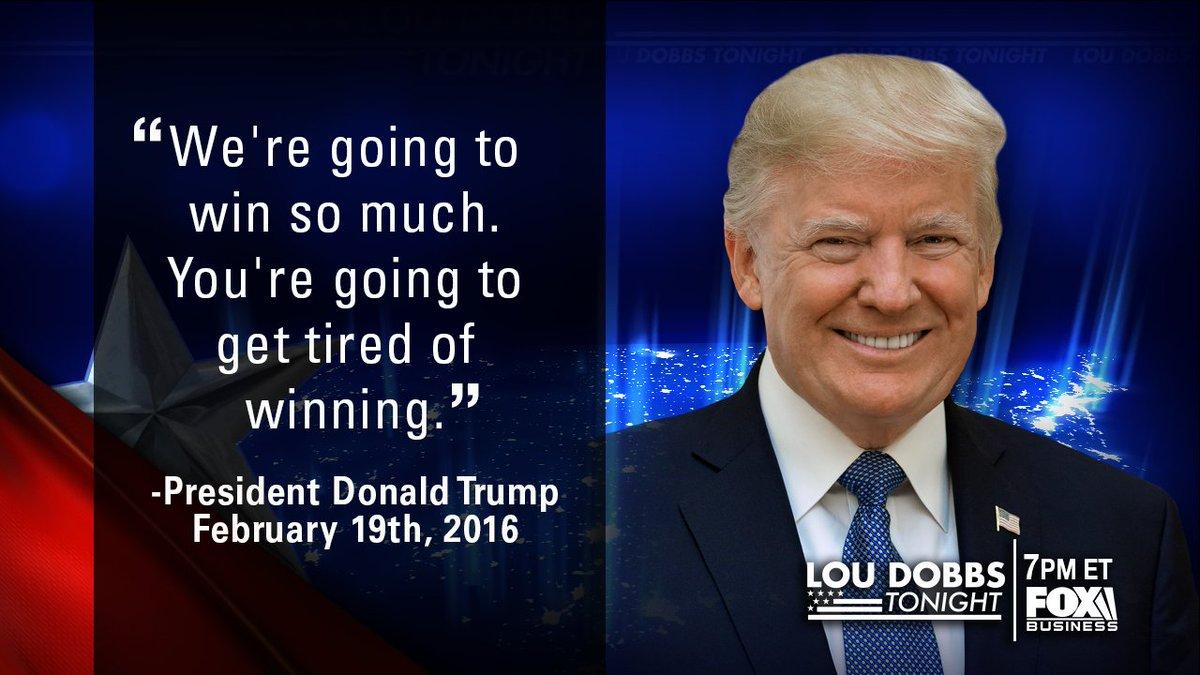Tonight's #QuoteOfTheDay is from President @realdonaldtrump. #MAGA #TrumpTrain #Dobbs #GiantRedWave