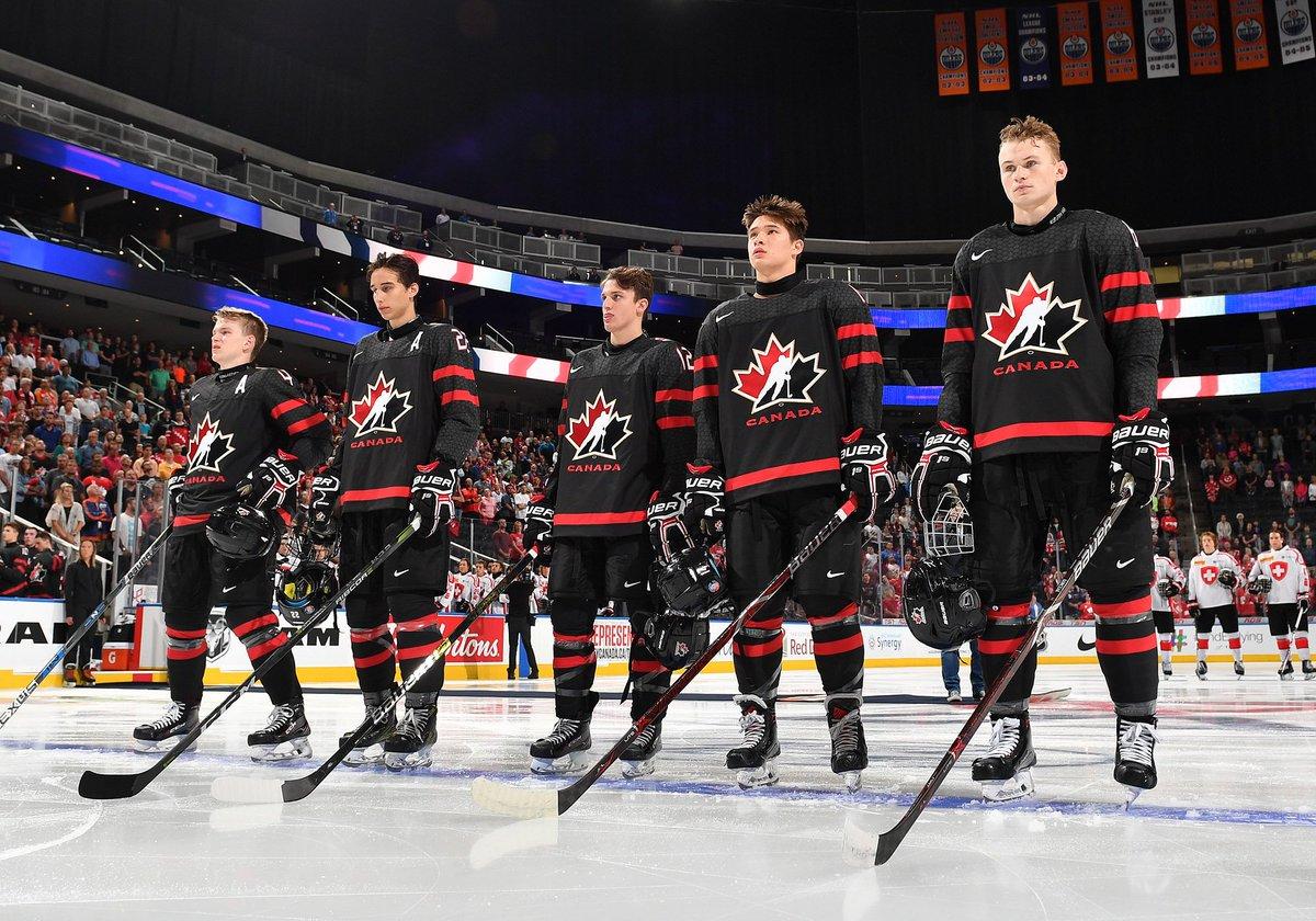 team canada black jersey