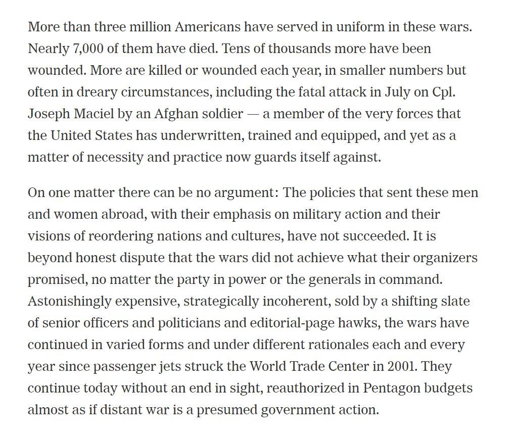 From Fifty Year War To Forever War >> Matt Pearce On Twitter American War Forever War Forever And