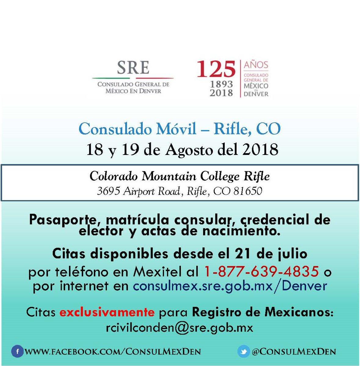 Consulmex Denver on Twitter: