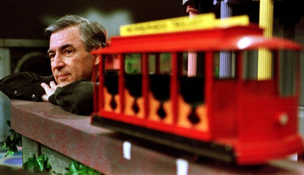 Grab your cardigan: A Logan Square bar is planning a Mr. Rogers tribute on Aug. 15.   Details:  https:// trib.al/3FL9JHO  &nbsp;  <br>http://pic.twitter.com/BF5jHkK1US