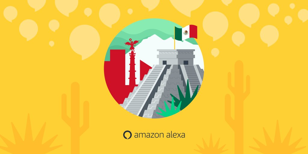 [Announcement] Now you can start building #AlexaSkills for customers in Mexico! Learn more and get started with the Alexa Skills Kit:  https:// amzn.to/2OUmrW8  &nbsp;   <br>http://pic.twitter.com/ahXekl0VjZ