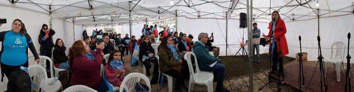 carpa auditorio #ArgentinaDefiendeLaVida #AbortoSesiónHistórica @MarisaBlanar @sofiamatozzi @CfapvsecC  - Ukustom