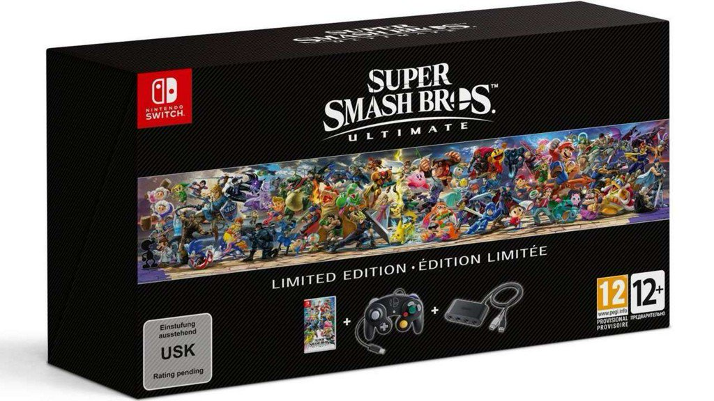 Super Smash Bros. Ultimate Limited Edition bundle announced, here's what's included https://t.co/AhlFVyiQed https://t.co/7w3Yi22LGM