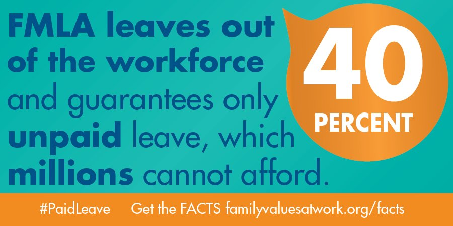 #ThursdayThoughts: The U.S. is the ONLY developed country without #paidleave. Workers need time to cope with severe illness, a new child or a chronically ill loved one without fear of job or salary loss. Tell Congress, pass the FAMILY Act:  http:// bit.ly/2JVtYBl  &nbsp;   #REALpaidleave <br>http://pic.twitter.com/ss6qx2rW3q