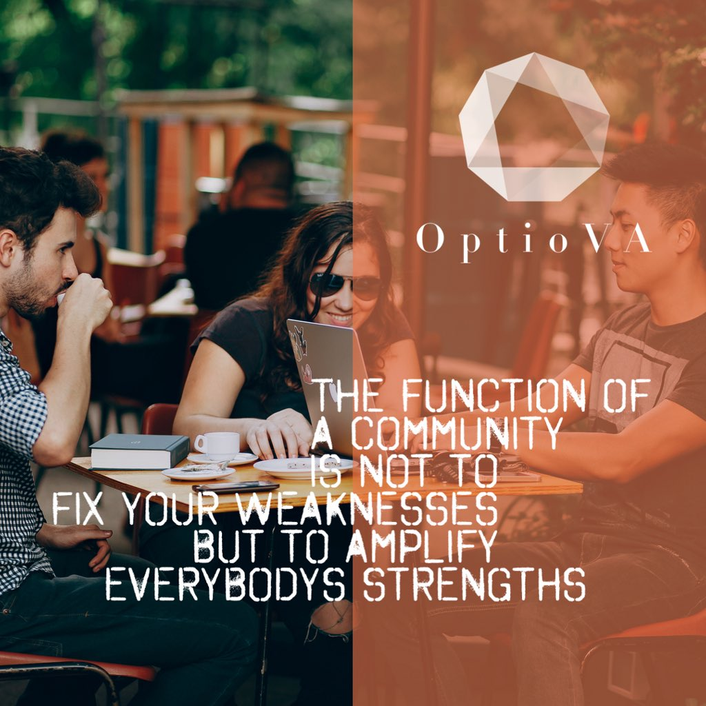 'The function of a community is not to fix your weaknesses but to amplify everybody's strengths.' - Simon Sinek  Happy #InternationalCoworkingDay    #earlybiz #coworking #freelancer #VirtualAssistant #SmartSocial #ukbizhour #womaninbiz #QueenOf #glasgow #teamwork #strengths<br>http://pic.twitter.com/rT3DycU0Ix