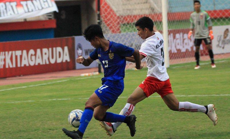 Timnas Thailand U-16 vs Vietnam U-16 (twitter/AFFPresse)