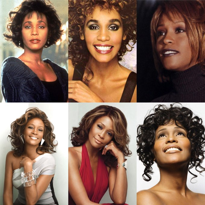 Happy 55 birthday to Whitney Houston up in heaven. May she Rest In Peace.