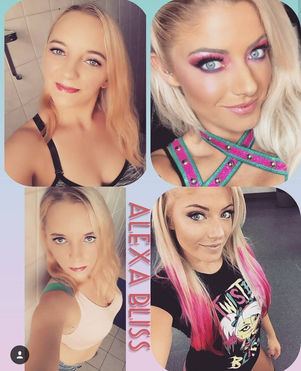 Happy Birthday to My Idol @AlexaBliss_WWE  . . . #wwe #raw #WWEUniverse #toosweet #forever #MyLife #WWEIsMyLife #GoodSister #Summer #Selfie #Photography #GermanWoman #makeup #Stylepic.twitter.com/x2BGIgi3x9
