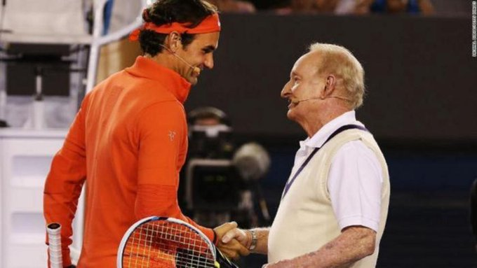 Rafael Nadal Academy and Rod Laver wish happy birthday to Roger Federer