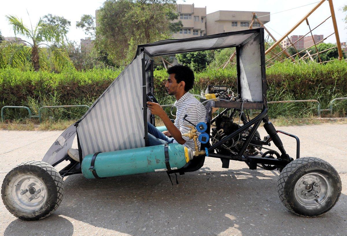 سيارة تعمل بالهواء المضغوط