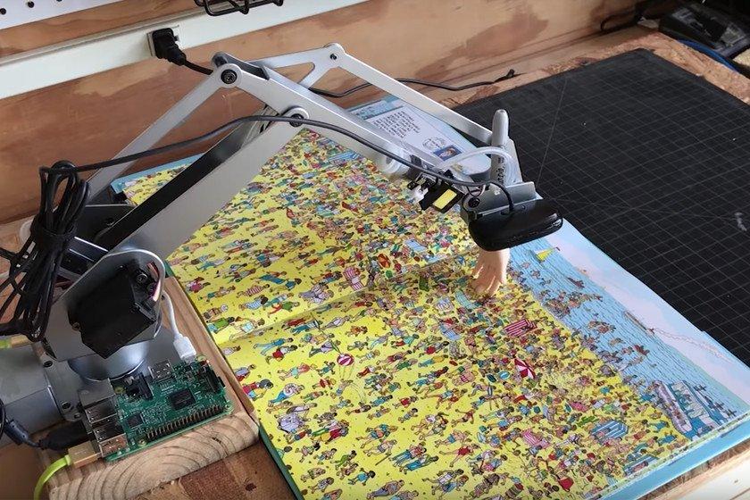 ¿Sabes dónde está Wally? Pues este robot no solo lo sabe, sino que lo señala antes que tú https://t.co/5pbdaOhiSg