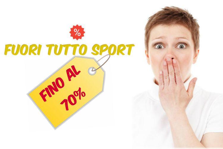 FUORI TUTTO  SCONTI SPORT FINO A -70%  Solo per poco tempo! Consegna gratuita da 49,99€  http:// www.loscontomatto.it/fuori-tutto-nsport#sconti #offerte #sport #running #calcio #fitness #sports #palestra #Nuoto #tennis #piscina #Danza #sci #volley #pattinaggio #subacquea  #surf  - Ukustom