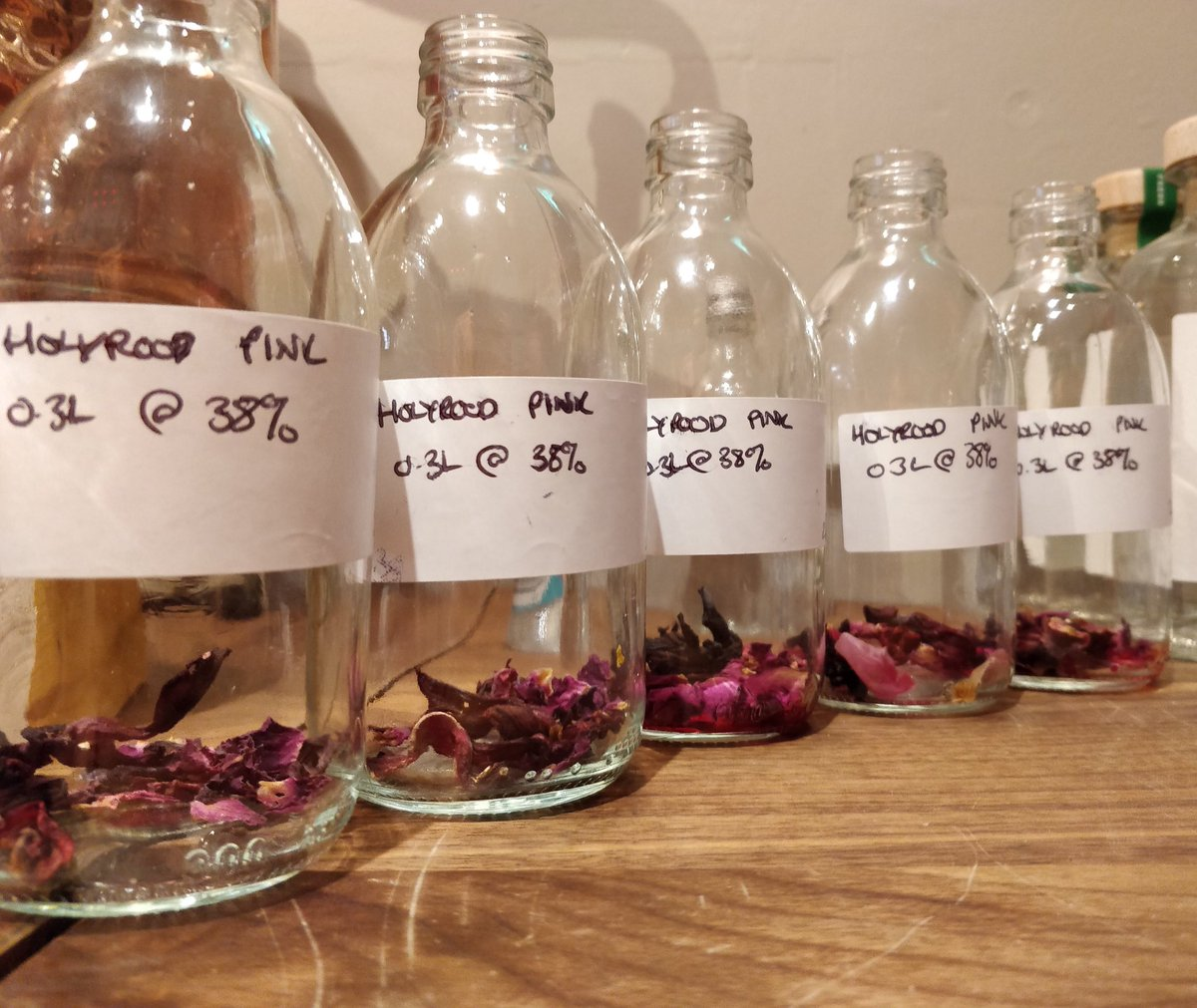 Holyrood Distillery On Twitter Some Pics Of Our Prototype Pink Gin