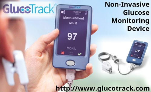GlucoTrack® Non-Invasive Glucose Monitoring Device http://bit.ly/2LIgQ7u #Diabetes #Tech #Glucose #Diabetic #Wearable #diabetescare #CGM #t1d #t2d #insulin #medtech #digitalmed #HealthTech #wearables #wearabledevice  - Ukustom