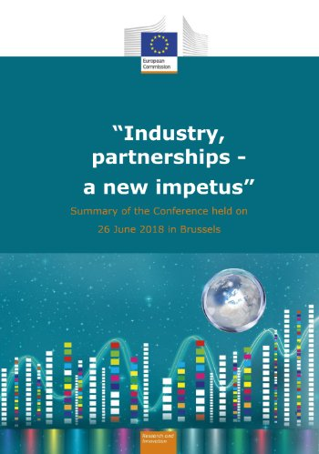 What will the EU&#39;s partnership with industry look like after #H2020?  The &#39;Industry, partnerships - a new impetus&#39; Conference Report offers some pointers: Digitise  Focus on systemic innovation  Involve workers &amp; citizens   http:// europa.eu/!Wg46gn  &nbsp;    #HorizonEU #EUIndustry<br>http://pic.twitter.com/r4s15UbXYm