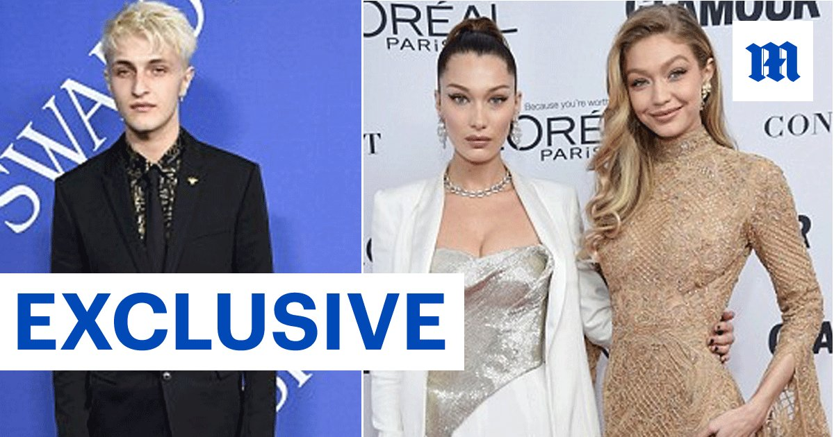 a80adb55e4 exclusive anwar hadid reveals the advice his older model sisters gigi and  bella gave him