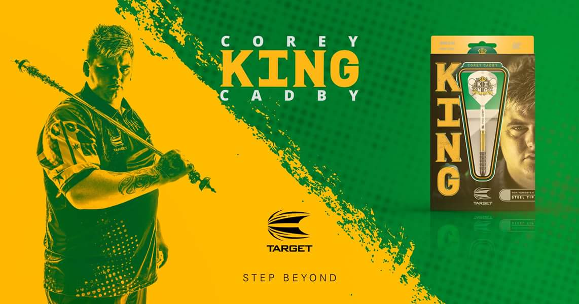 First round draw for the @DartsMelbourne: @KingCadby180 v Simon Whitlock @RobCross180 v Haupai Puha @Raybar180 v Ray ODonnell #TeamTarget