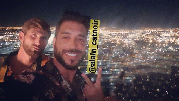 Aller 2 beaux mecs faire les amériques!!  @AlainRocbenOff @CharlesTheyss #alain #charles #canon  #sympa #amitie #LasVegas #venicebeach #vegas #California BON JEUDI #teamalain #SS11 #MELAA3  - FestivalFocus
