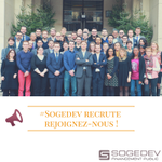 Image for the Tweet beginning: [Jobs] @Sogedev recrute 4 #Business