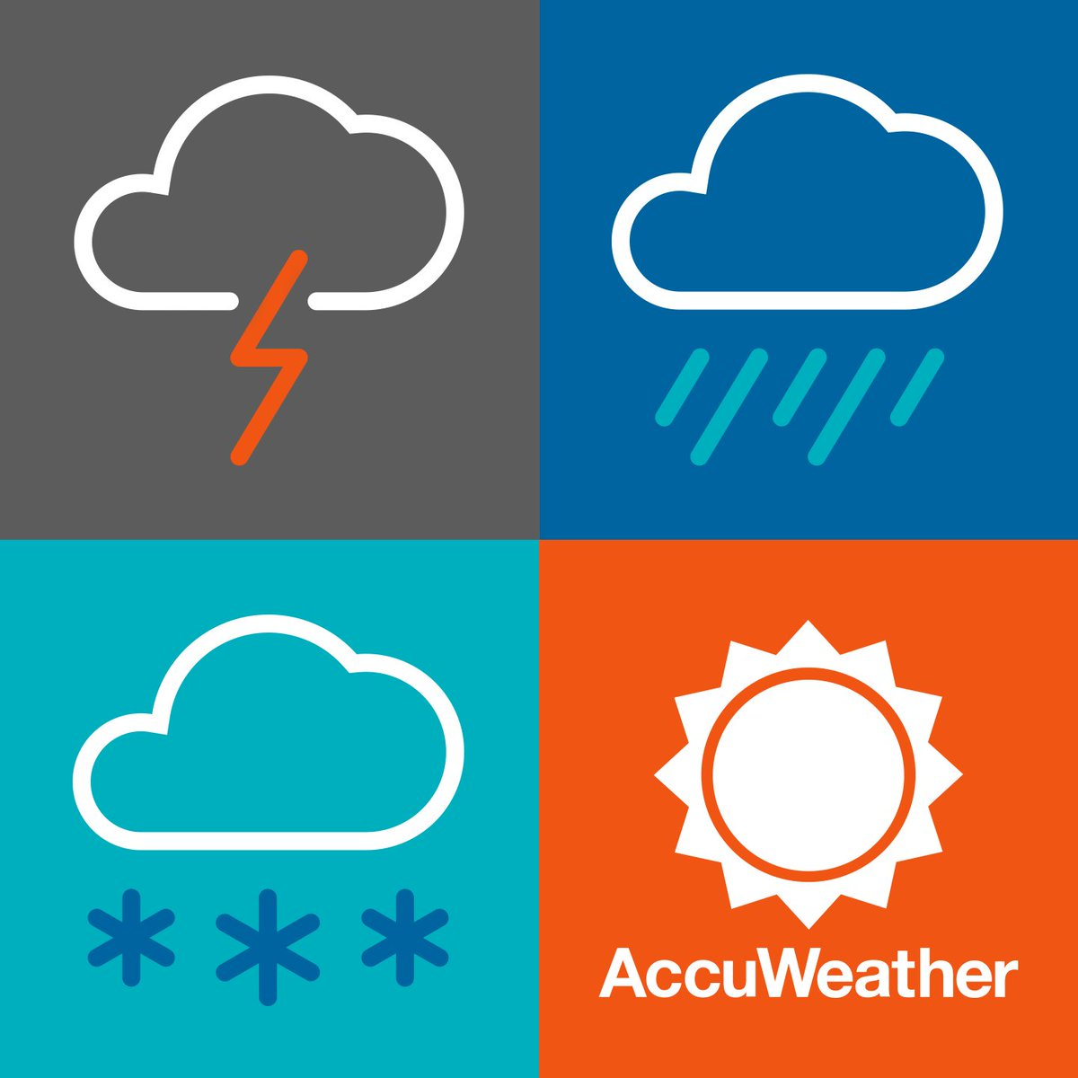 Weather checking app Accuweather