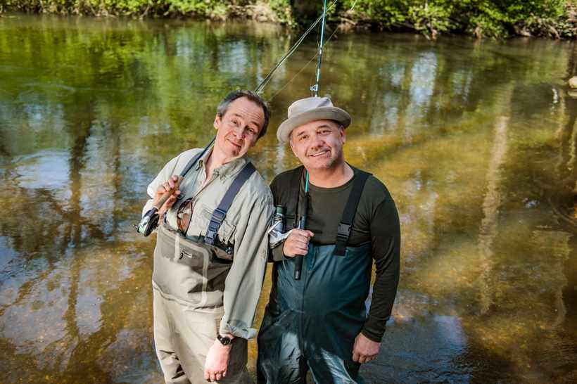 Mortimer and Whitehouse: #GoneFishing gets second series https://t.co/am6BpE7a0U #TVChampion